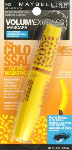 Mascara Maybelline The Colossal Cat Eyes 9.2ml# 243 (The USA)