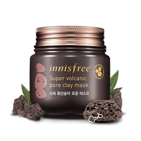 Mặt Nạ Innisfree Super Jeju Volcanic Pore Clay Mask 100ml