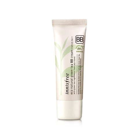 Kem Nền BB Cream Innisfree Eco Natural Green Tea SPF29 40ml #01