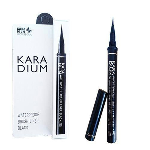 Kẻ Mắt Nước Karadium Waterproof Brush Liner Black