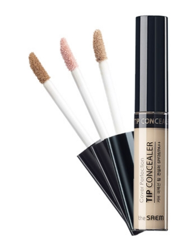 Kem Che Khuyết Điểm The Saem Cover Perfection Tip Concealer 1.5 (Cây)