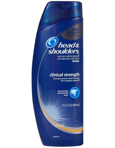 Dầu Gội Head & Shoulder Clinical Strength USA 400ml