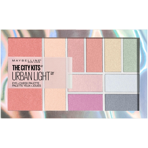 BẢNG MÀU MẮT MAYBELLINE THE CITY KITS URBAN LIGHT EYE + CHEEK PALETTE