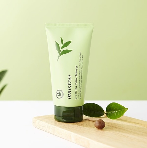 Sữa Rửa Mặt Innisfree Green Tea Foam Cleanser 150ml