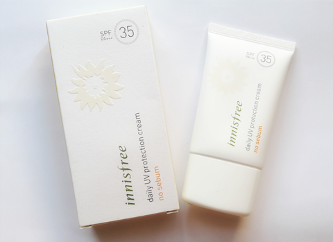 Kem Chống Nắng Innisfree Daily UV Protection Cream ( No Sebum) 50ml
