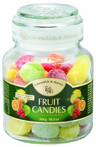 Kẹo Cavendish & Harvey Fruit Candies 300g