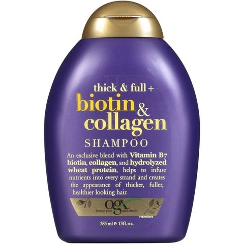 Dầu Gội Biotin Collagen 385ml