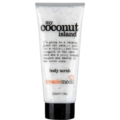Tẩy Da Chết TreacleMoon Body Scrub The Coconut Island 225ml