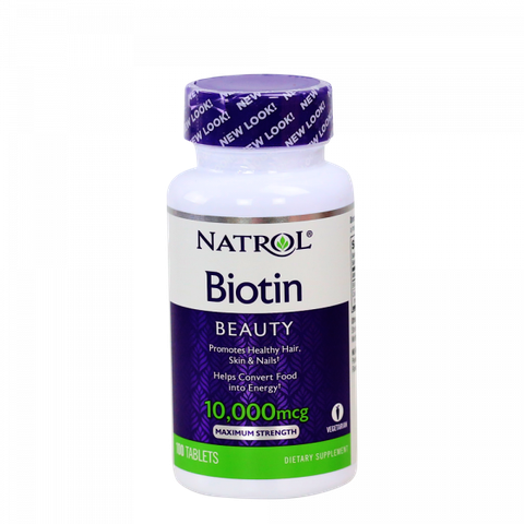 Thuốc Biotin 10,000mg Maximum Strength