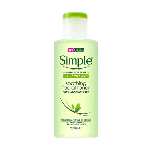 Nước Hoa Hồng Simple Kind To Skin 200ml