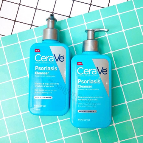 Sữa tắm trị vảy nến CeraVe Psoriasis Cleanser