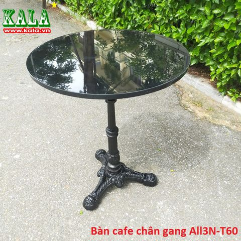 Bàn cafe chân gang ALL3N-T60
