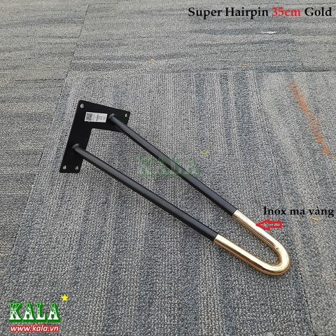 Super Hairpin 35cm Gold