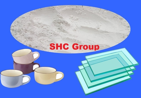 Calcium Carbonate Powder For Glass and Ceramic