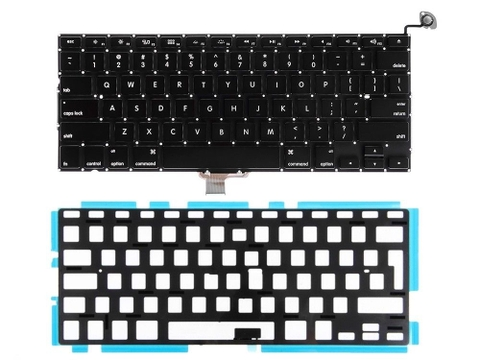 Bàn phím Keyboard Macbook Pro Unibody A1286 /2009 /2010 /2011 /2012 /Z30