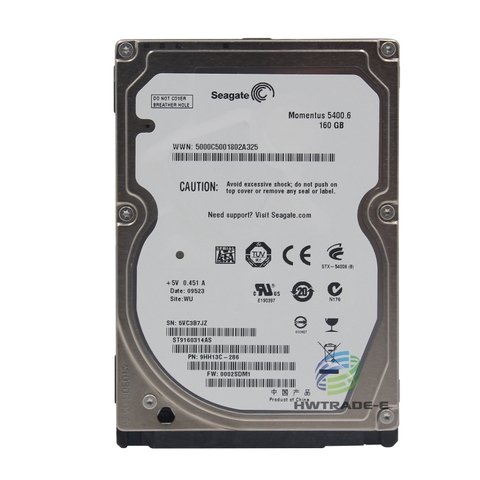 Ổ cứng Laptop HDD Seagate Hitachi 160GB 5400RPM 2.5