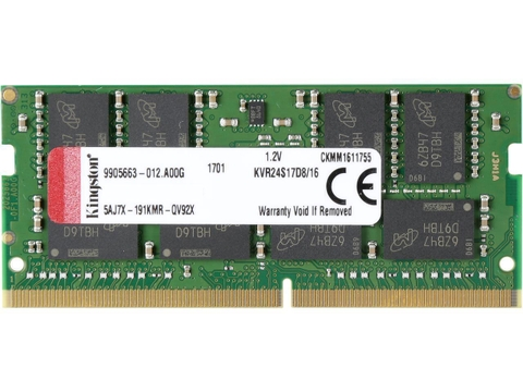 Ram Kingston 16GB DDR4 2400MHZ cho Laptop