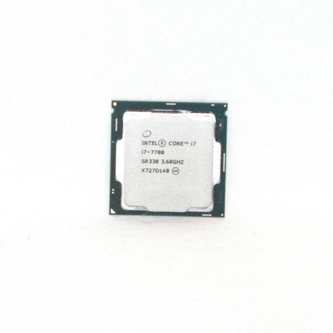 CPU Apple iMac Intel Core i7-7700 / SR338 4x 3.60GHz / Turbo 4,2GHz Sockel 1151