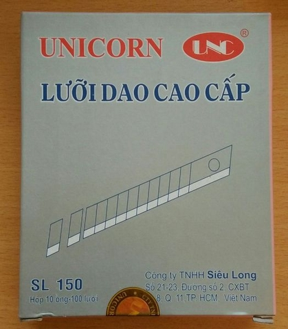 Lưỡi dao  Unicorn 18mm
