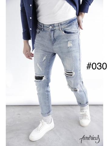 Quần jeans rách nam Logan L&L nên phối với áo gì thì hấp dẫn nhất?