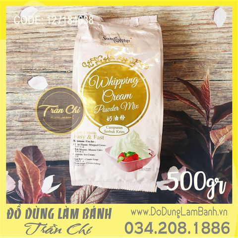 BỘT Whipping Cream Powder Mix KHÔ Malaysia - Gói 500gr