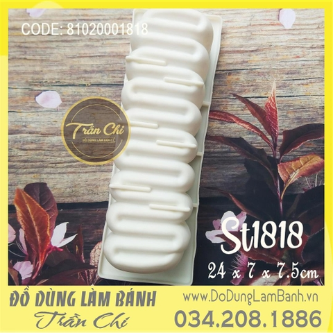 Khuôn silicone trắng ZIC ZAC (ST1818)