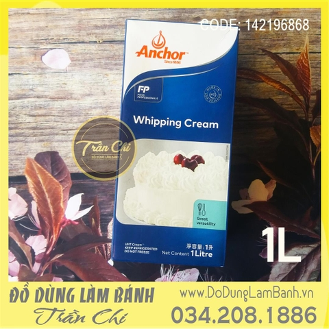 Whipping Cream ANCHOR - Hộp 1 lít