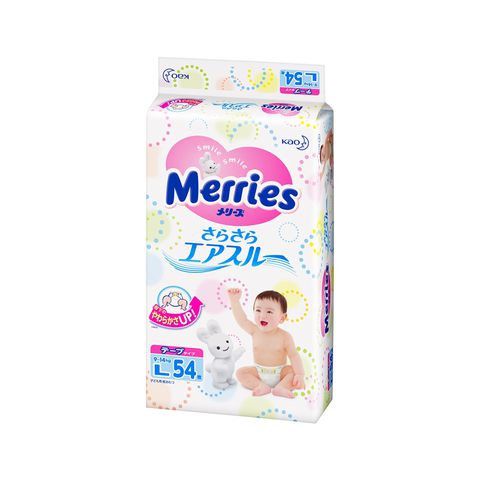 Bỉm Merries dán L54