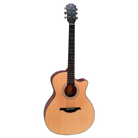 Đàn Guitar Acoustic Rex RA12C-NM