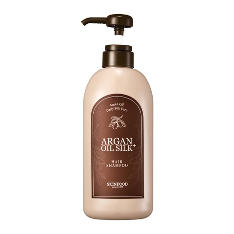 ARGAN OIL SILK + HAIR SHAMPOO
