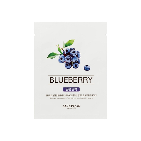 Mặt nạ miếng BEAUTY IN A FOOD MASK SHEET – BLUEBERRY