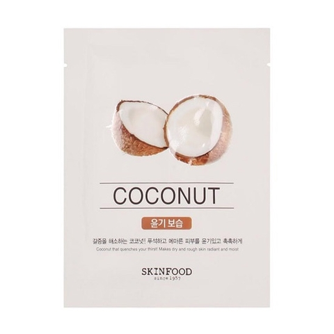 Mặt nạ miếng BEAUTY IN A FOOD MASK SHEET – COCONUT