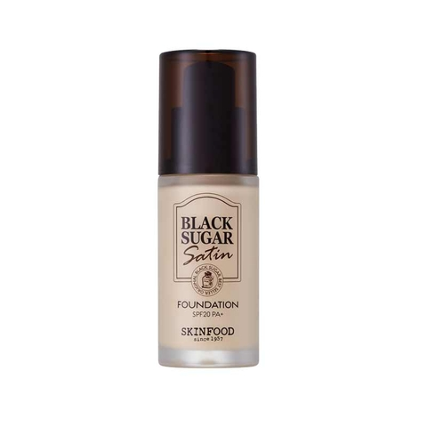Kem nền BLACK SUGAR SATIN FOUNDATION SPF 20 PA+ N13