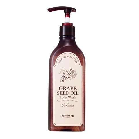 GRAPE SEED OIL BODY WASH