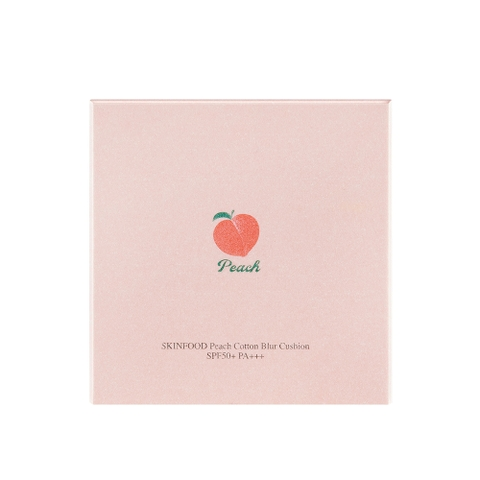 Phấn nước SKINFOOD PEACH COTTON BLUR CUSHION SPF50+PA+++