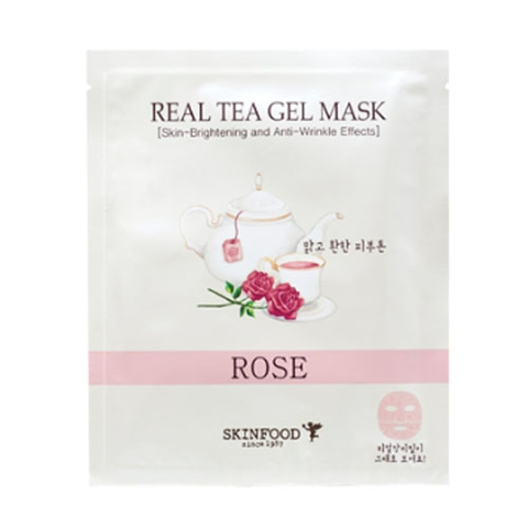 Mặ nạ dạng gel REAL TEA GEL MASK, ROSE
