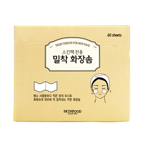 Bông cotton TIGHT TISSUES FOR SKIN PACK
