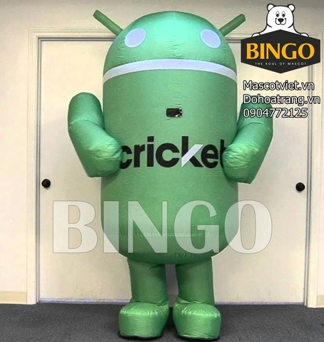 Mascot hơi robot Android