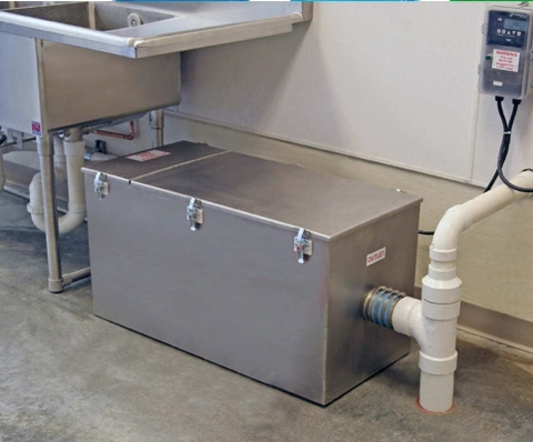 Automatic Grease Trap for Restaurant Kitchen FATBUSTA