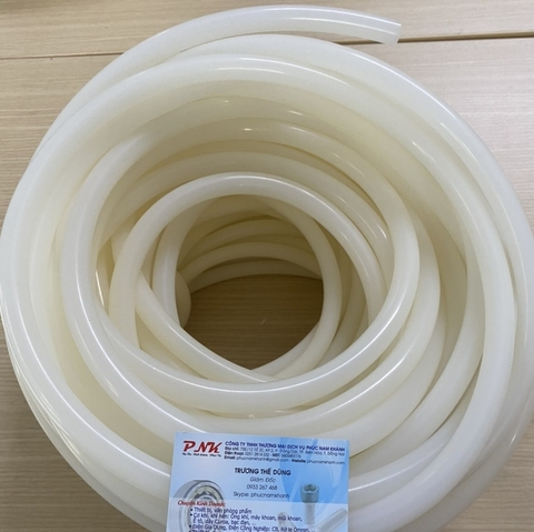 ỐNG SILICONE TRẮNG PHI 12MM