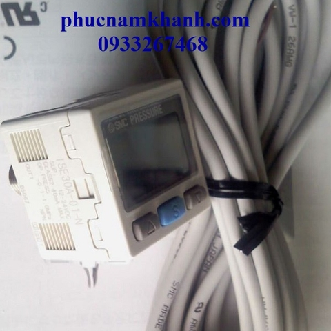 SENSOR ISE30A-01-N SMC DIGITAL PRESSURE SWITCH