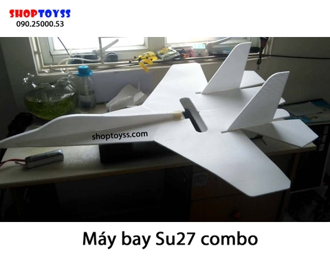 may bay canh bang dieu khien kit su27 combo do dien shoptoy