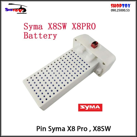 Pin Syma X8 Pro - X8SW battery