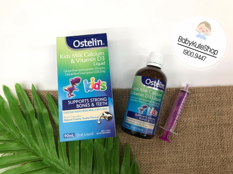 Ostelin Kids Milk Calcium & Vitamin D3