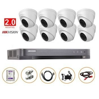BỘ 08 CAMERA 2MP DS-2CE56D0T-IT3