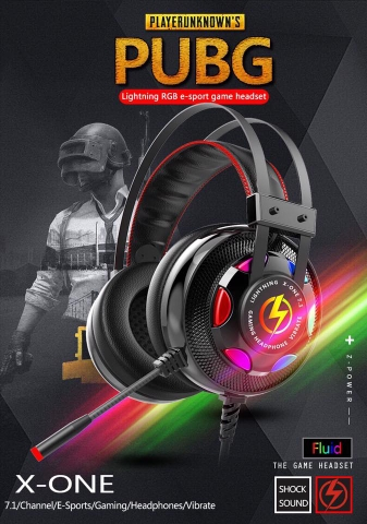 Headphone LIGHTNING X-ONE 7.1 CÓ RUNG - CARDSOUND rời