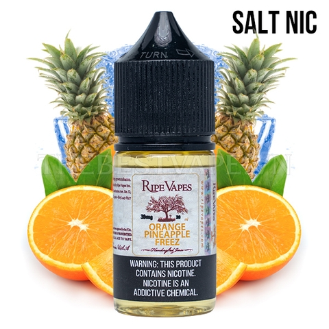 Ripe Vapes - ORANGE PINEAPPLE FREEZ (Dứa Cam Lạnh) - Salt Nicotine