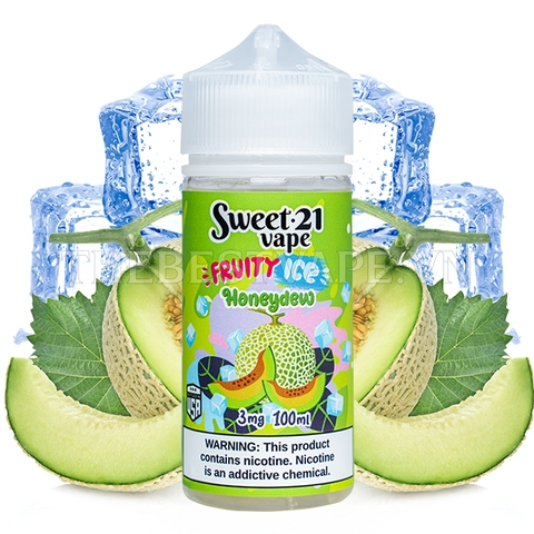 Sweet 21 Vape - FB Fruit Ice HoneyDew  3mg 100ml