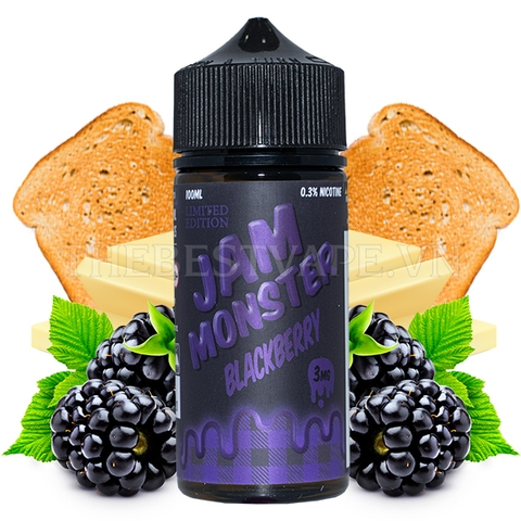 Jam Monster - FB Blackberry 100ml