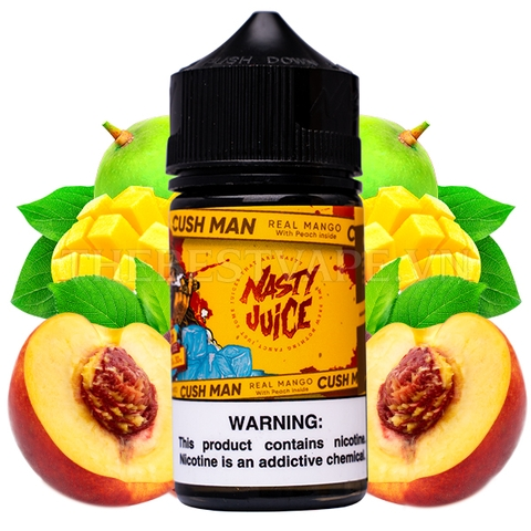 Nasty Juice Cush Man - FB Mango Peach 60ml